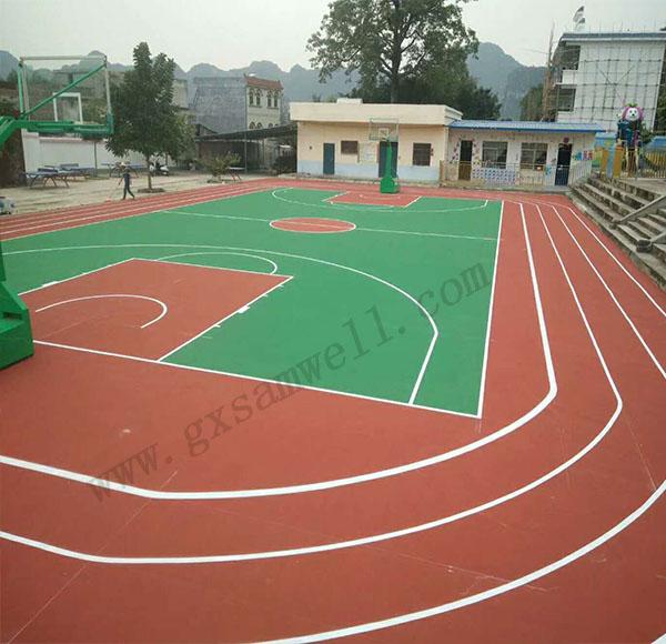 篮球场地坪