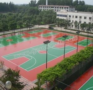 桂林硅pu球场地坪