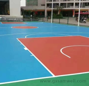 桂林篮球场地坪
